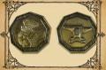 Zwergengoldmünzen, 3 Stck.