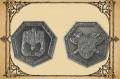 Zwergensilbermünzen, 6 Stck.