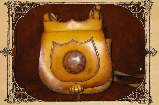 """Handtasche """"Pinie"""" Einzelstück"""