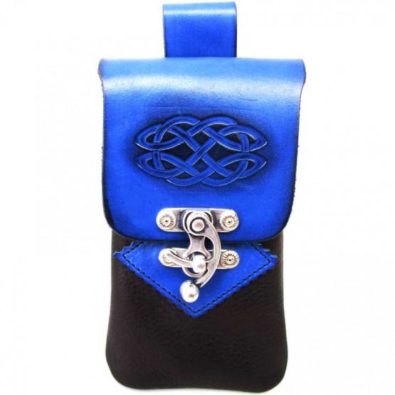 Smartphonehülle Knoten Blau
